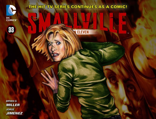 Smallville - Season 11 033 COVER