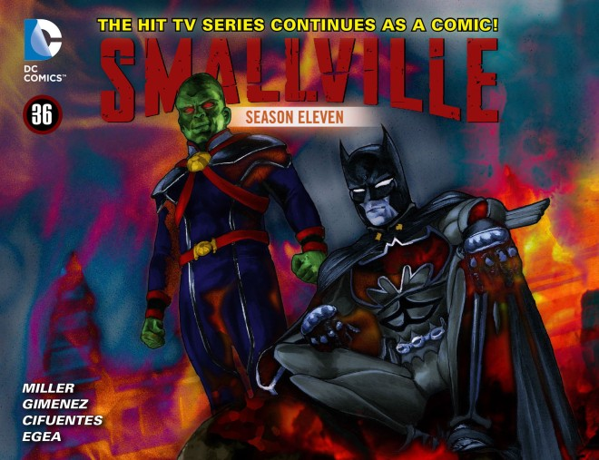 Smallville - Season 11 036 (2013) cover
