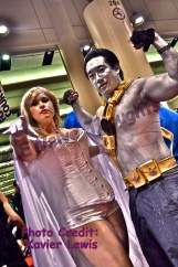 Emma Frost/White Queen & Colossus